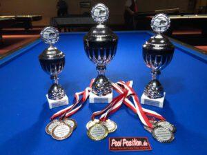 Pokale Offene Stadtmeisterschaft 2018 - pool position